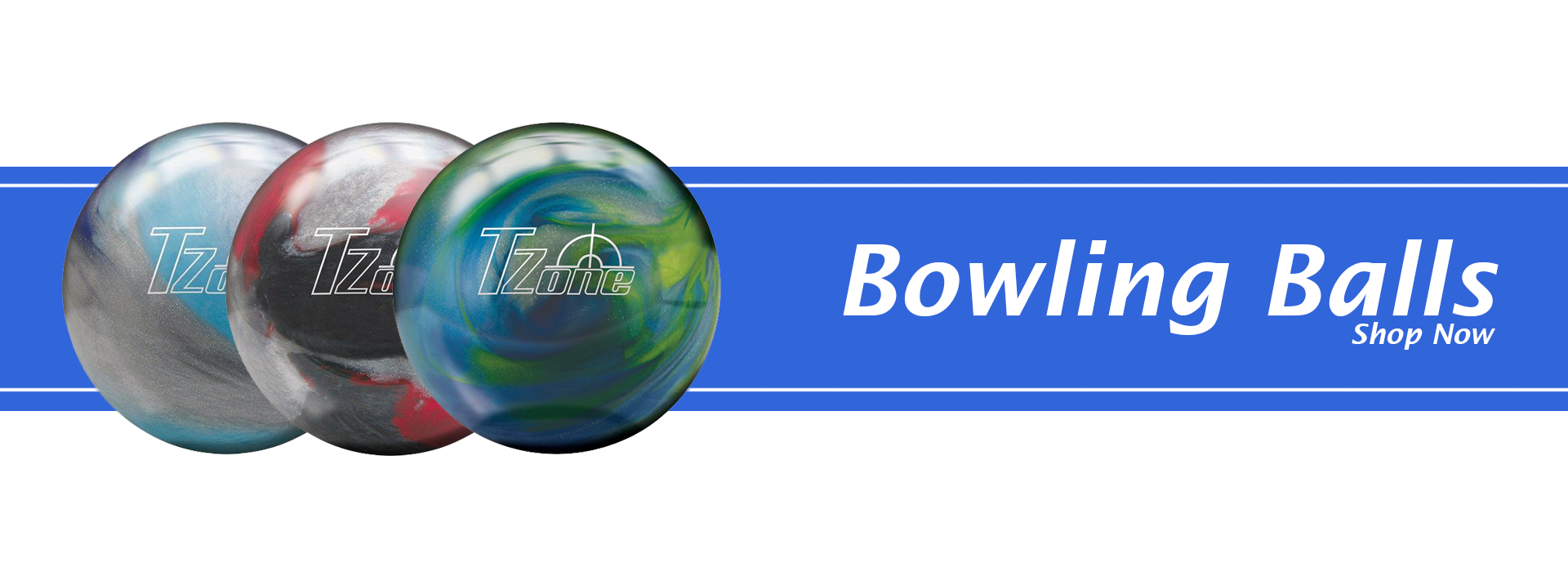 Bowling Balls Banner: Links to Bowling Balls Category